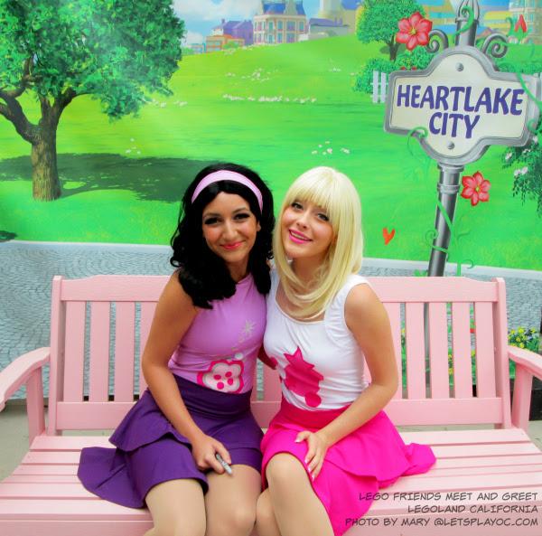 Heartlake Times Friends Display At Legoland Billund