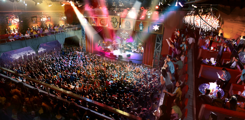 The Garden Walk Anaheim Ca: House Of Blues Anaheim Opens New Flagship Venue At Anaheim