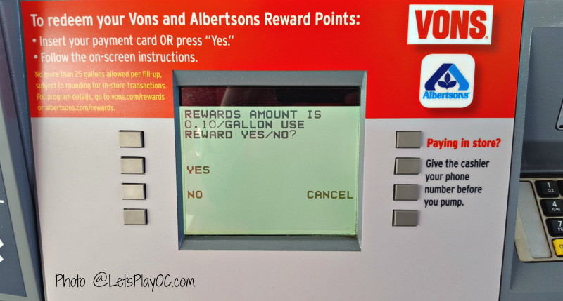 Nearest Chevron Gas Station >> Albertsons New Gas Rewards Program - LET'S PLAY OC!