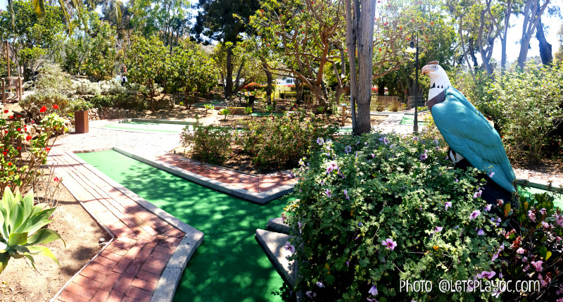 Catalina island 39 s golf gardens miniature golf let 39 s play oc for Garden city mini golf
