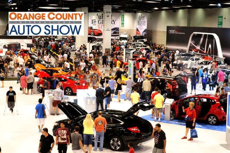 Orange County Auto Show >> Orange County International Auto Show Ticket Giveaway Let S Play Oc