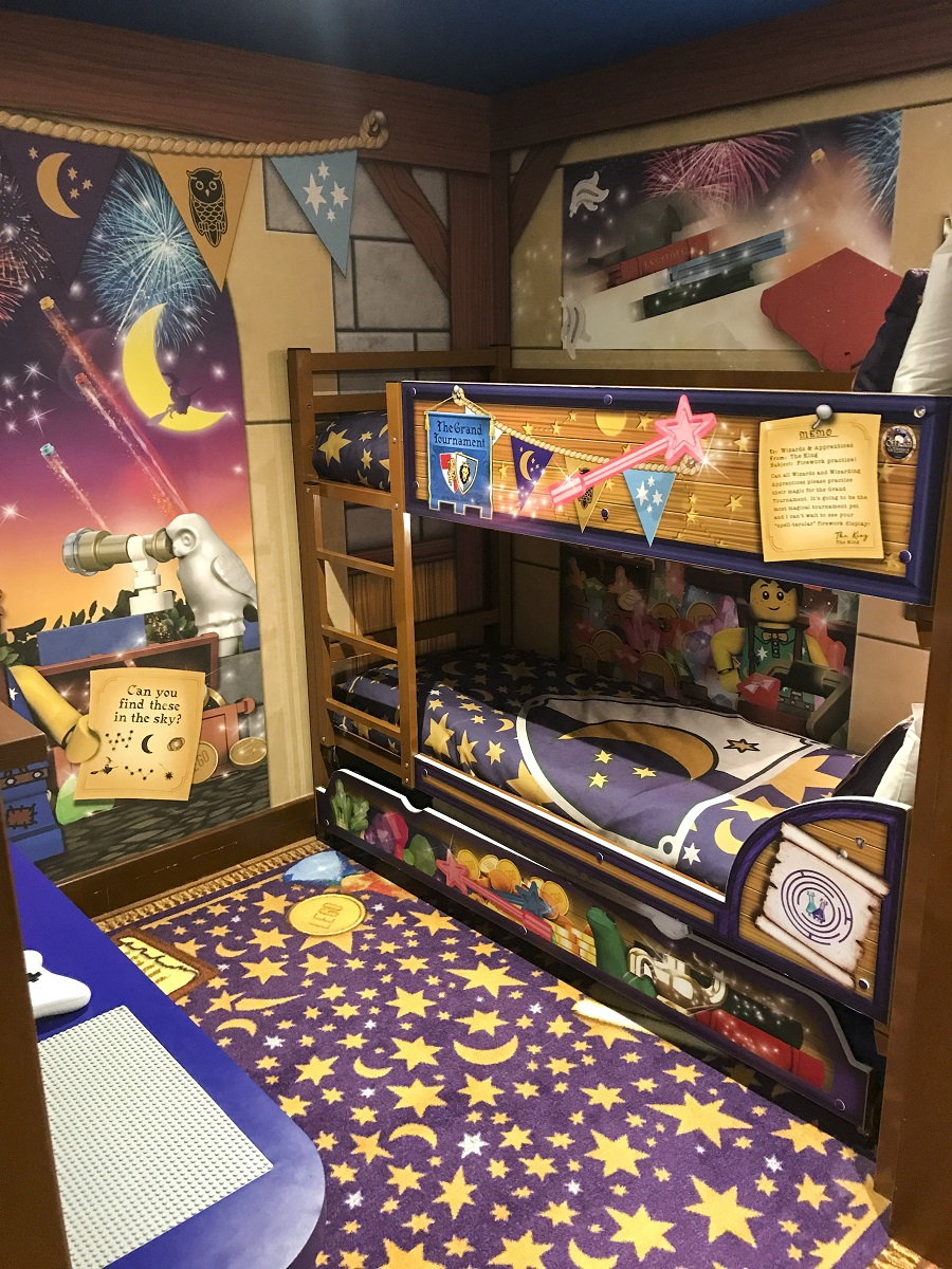 Legoland Castle Hotel Wizard Room California