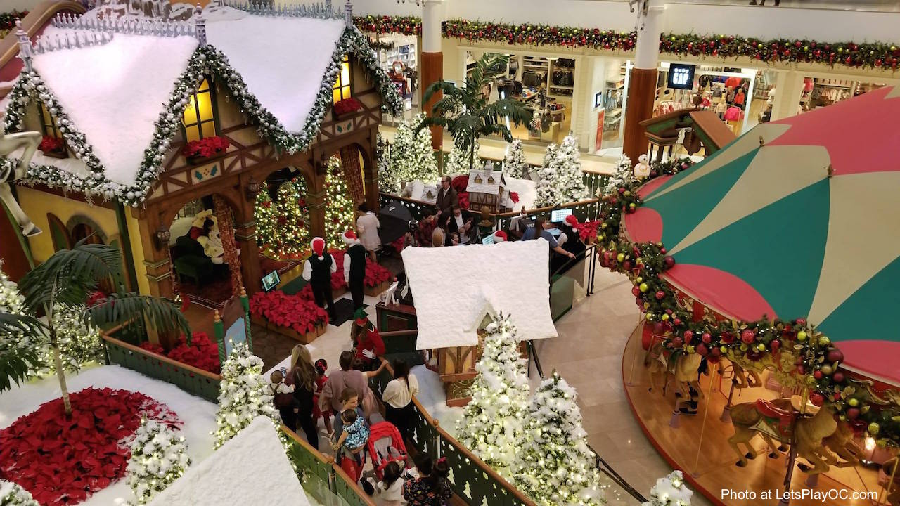 South Coast Plaza Santa Village