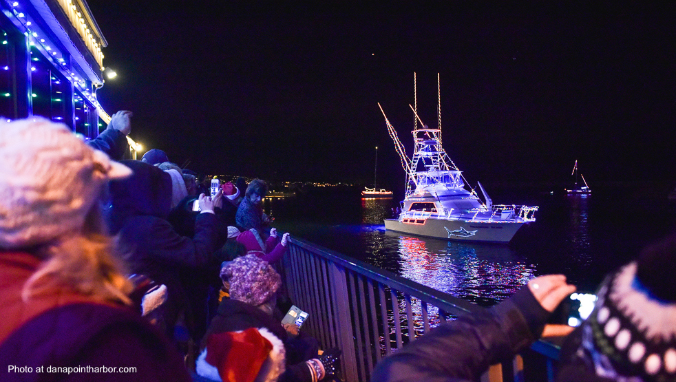 Dana Point Harbor Boat Parade