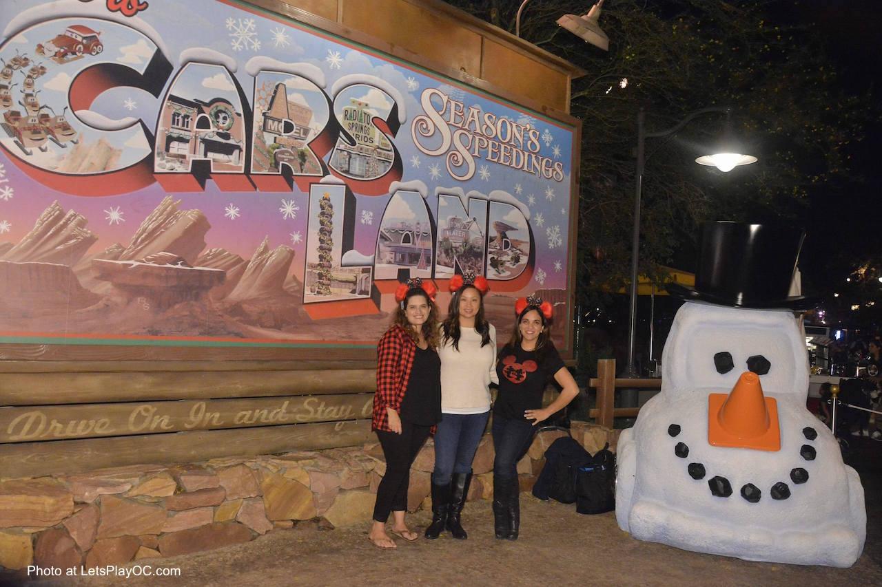 Disneyland California Adventure Festival of Holidays CarsLand MaxPass