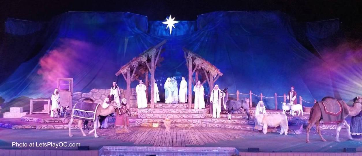 SeaWorld San Diego Christmas Nativity O Wonderous Night