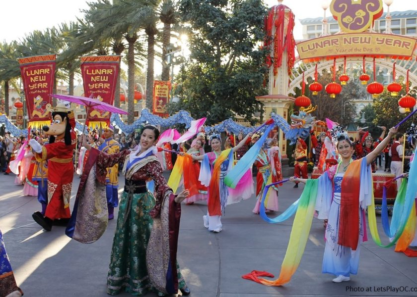Disneyland California Adventure Mulan Lunar New Year