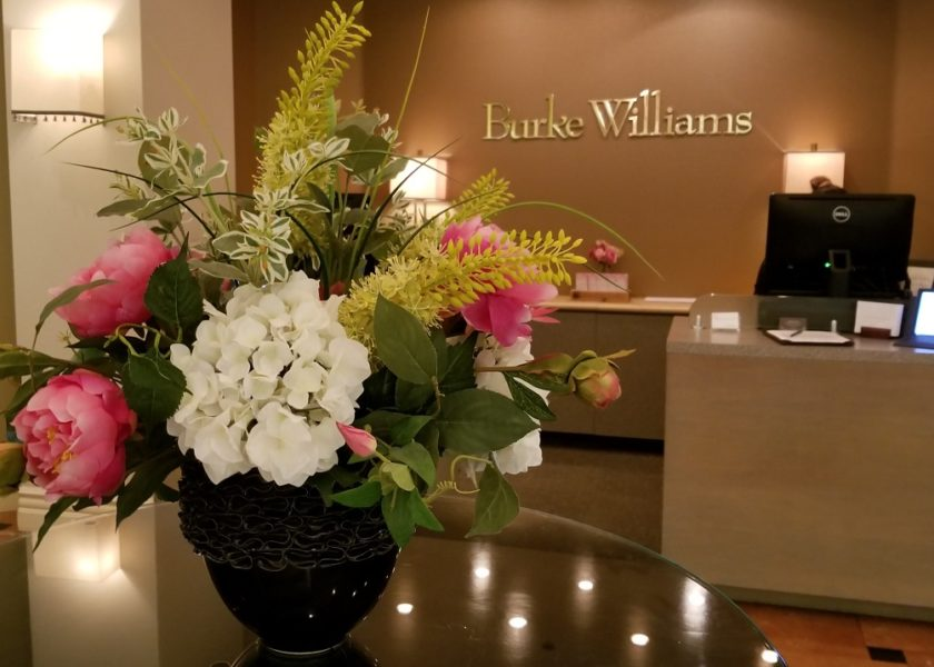 Burke Williams Spa Mission Viejo Lobby Valentines Galentines Day