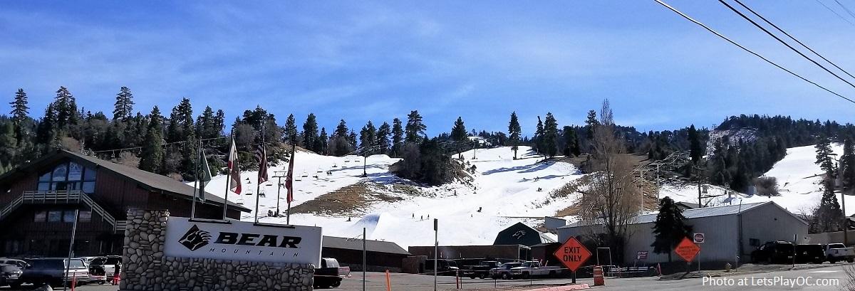 Big Bear Lake Bear Mountain Resort