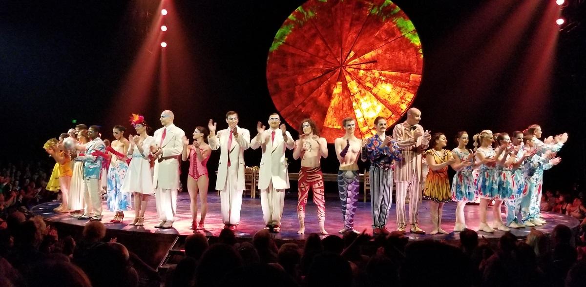 Cirque du Soleil LUZIA Finale
