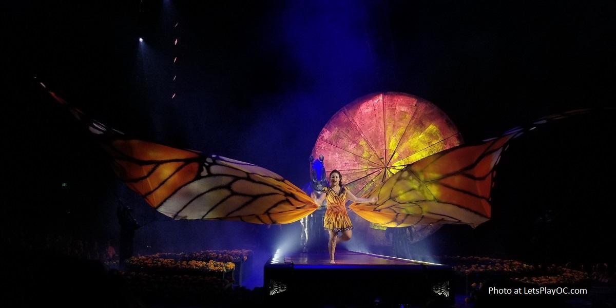 Cirque du Soleil LUZIA Monarch Butterfly