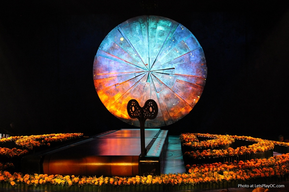 Cirque du Soleil LUZIA Stage Orange County