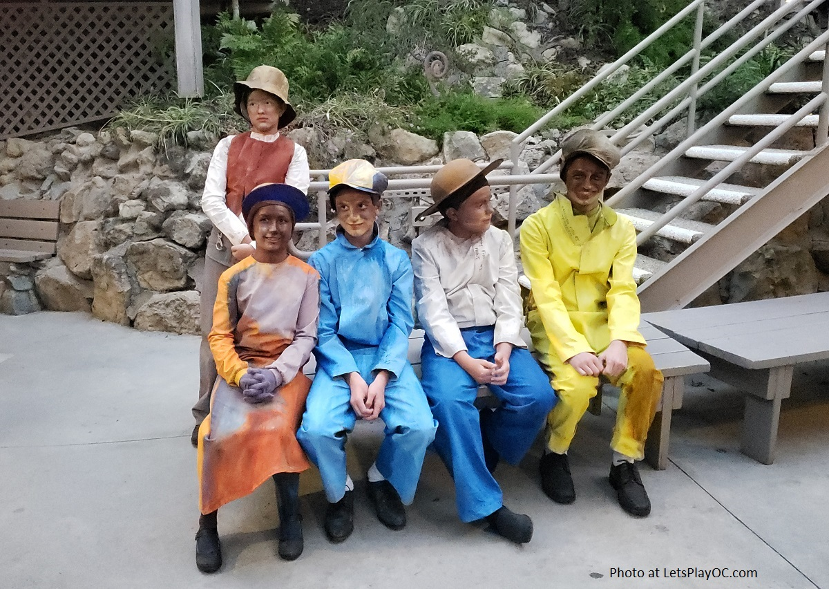 Pageant of the Masters Children Volunteers