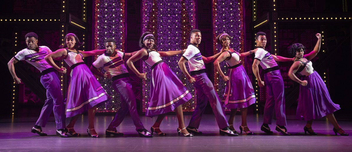 "Beautiful – The Carole King Musical - ""The Locomotion."" The Touring Cast of Beautiful – The Carole King Musical"