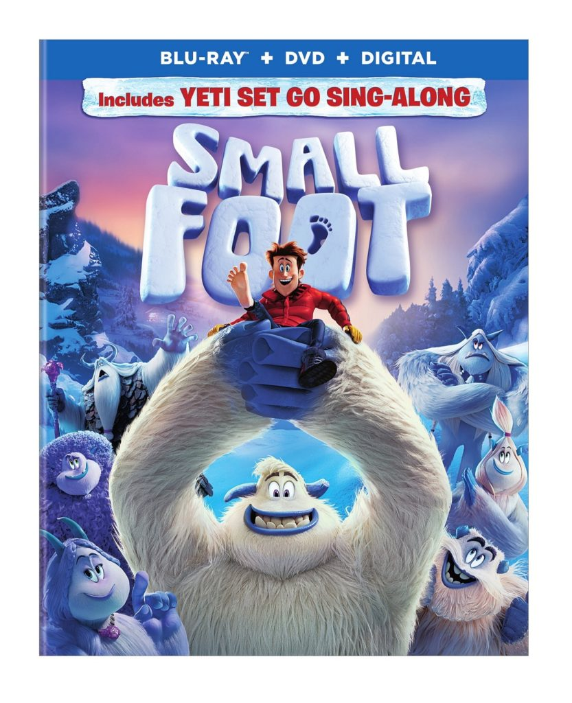 SMALLFOOT Blu-ray Movie Cover