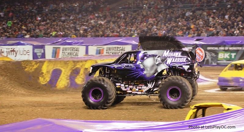 Monster Jam Truck Mohawk Warrior